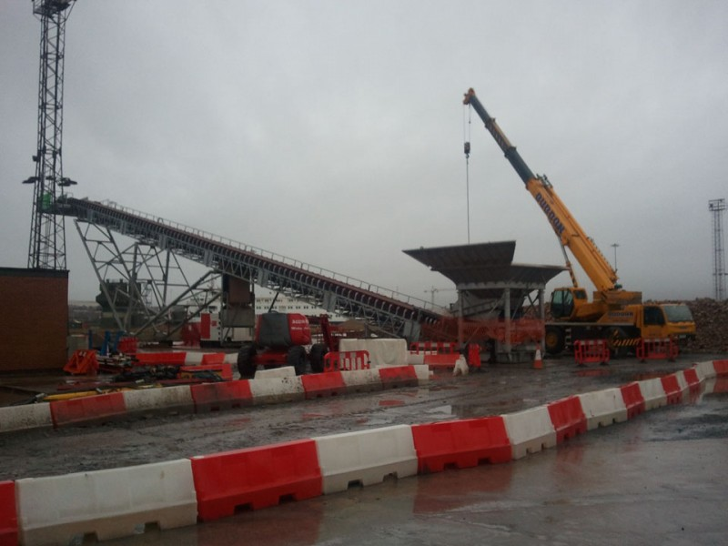 Crane & Telehandler Lift Services - P Dalton Engineering