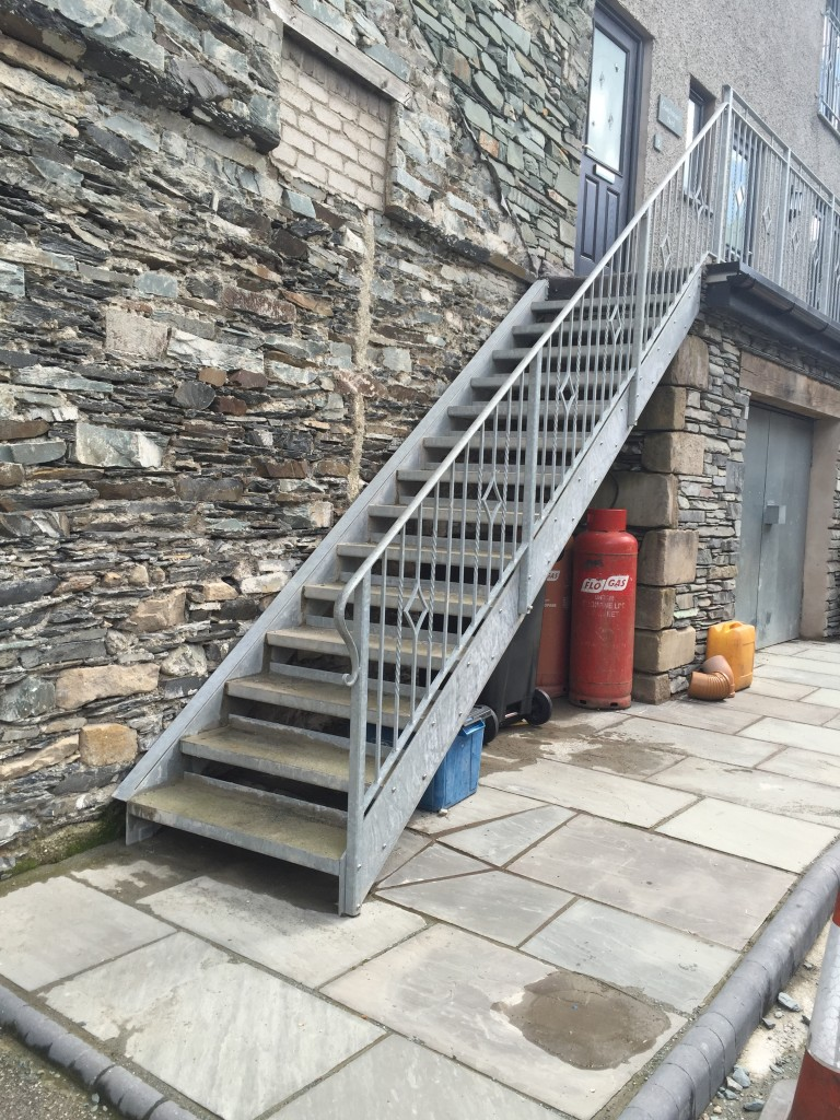 Superior Design, Manufacture And Installation Of Domestic And Commercial Fire Escapes,  From Simple Functional Designs, To Multi Floor Access Stairs And Feature ...